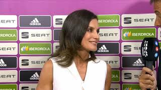"Palabras de S.M. la Reina antes de la Final de la ""Copa de la Reina"" de Fútbol Femenino"