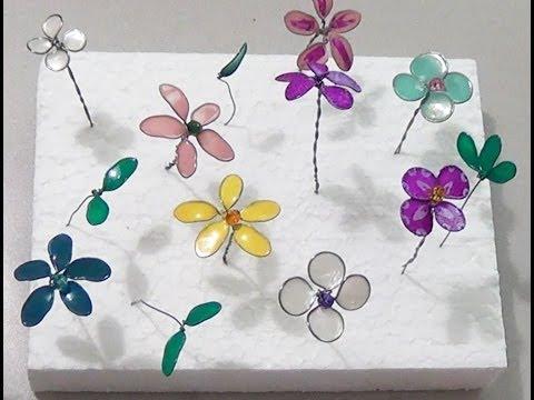 fiorellini con gli smalti per unghie (fai da te)