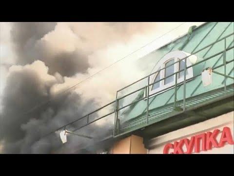 Μόσχα: 50 πυροσβέστες στη μάχη με τη φωτιά