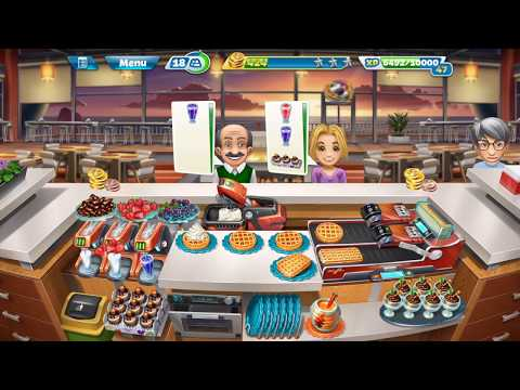 Cooking Fever – Sunset Waffles Level 40 (3 Stars)