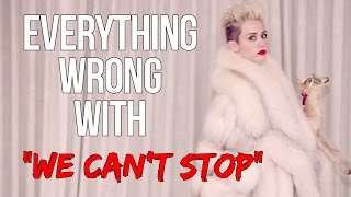 """Video Everything Wrong With Miley Cyrus - """"We Can't Stop"""" MP3, 3GP, MP4, WEBM, AVI, FLV Oktober 2018"""
