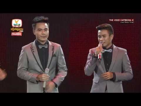 Khy Sokhun and Chhorn Sovannareach, Right Here Waiting, The Voice Cambodia 2016