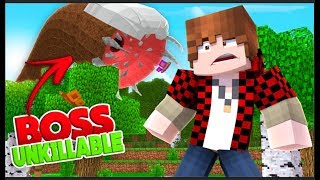 PROS CAN NOT WIN vs THIS BOSS • ... (Impossible and Unkillable Minecraft Challenge!)