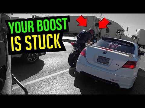 telling honda owner his boost is stuck (видео)