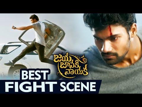 Best Fight Scene  | Latest Telugu Movie Scenes | Jaya Janaki Nayaka Telugu Movie
