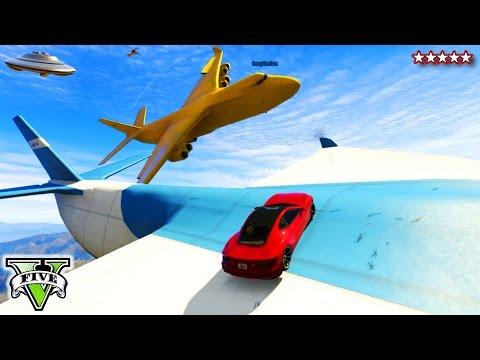 5 - GTA 5 Online BIG FAT YELLOW CARGOPLANE Sandbox!!! - Funny Moments BIG Yellow BANANA CARGOPLANE GTA 5 ▻Hike's Heroes - http://j.mp/HikesHeroes ▻HikePlays - http://j.mp/HikePlays ...