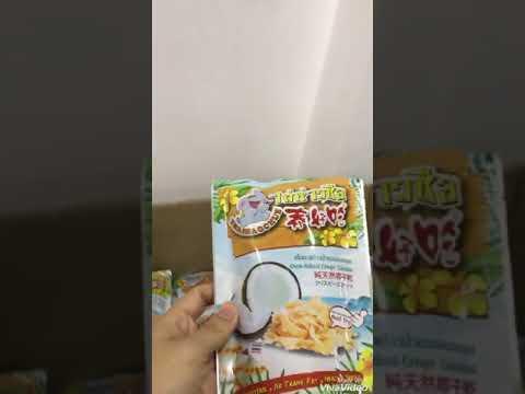 Combo Quà Tặng 6 loại Trái Cây Sấy Thái Lan - ThaiHaoChueGroup | ThaiQueenFruits.com®