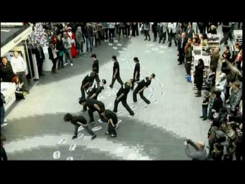 Diversity put together a Flashmob for the new Sky1 show Got to Dance.