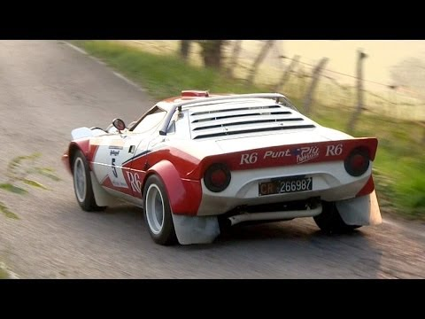 Lancia Stratos HF Group 4 – Ferrari V6 Engine Sound
