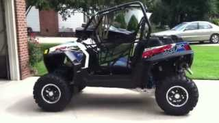 8. 2012 Polaris XP 900 RZR LE VooDoo Blue