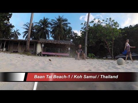 Baan Tai Beach-2 / Koh Samui / Thailand / overflown with my drone