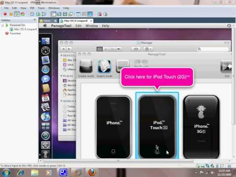pwnagetool - Hey guys, this video will show you how to install VMWare on your windows, and run Mac OS X and pwnage tool 3.1.4 to make your own custom firmware. Pwnage too...