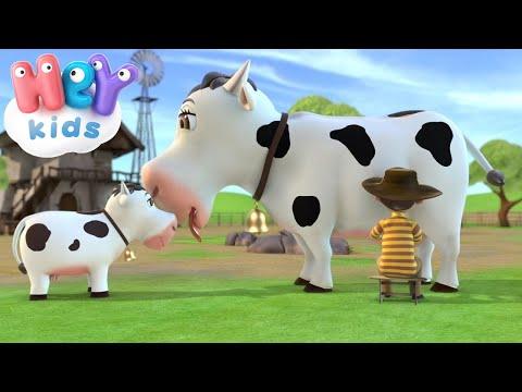 Корова Зорька - Детские песни - Развивающие мультфильмы для детей (видео)