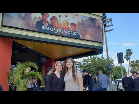 Rim of the World Premiere | WE MET THE CAST!!!