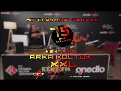 Onedio & Kent FM Ortak Yayını 75 Saatlik Metehan Mert Çakır ile Arka Koltuk XXL