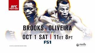 Fight Night Portland: Brooks vs Oliveira - Joe Rogan Preview by UFC