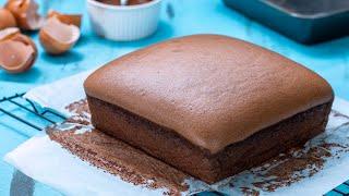 Chocolate Taiwanese Castella Cake