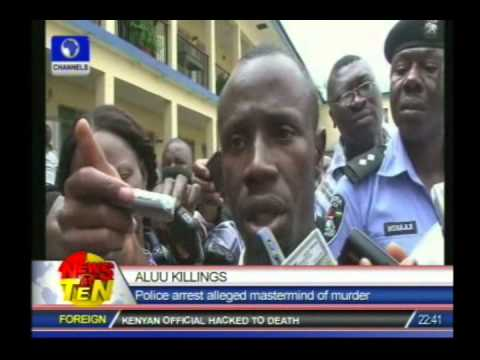 Suspect says police officer joined in the Aluu killing of University of Port Harcourt students