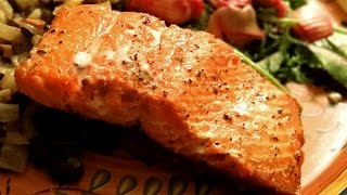 This salmon recipe is delicious, and a crispy salmon skin only makes it better. Cooking salmon with a crispy skin adds terrific ...