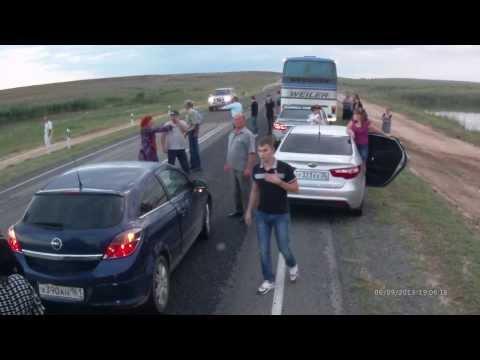 Consecuencias de quedarte embobado cuando hay un accidente