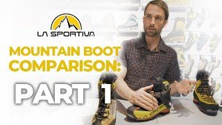 La Sportiva Technical Ice Boots by WeighMyRack