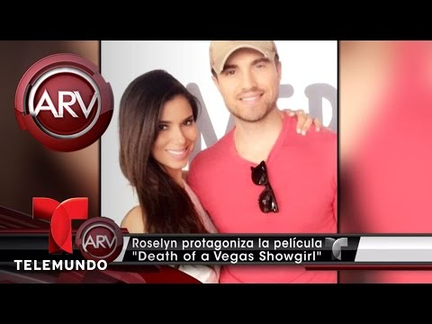 "Roselyn Sánchez en ""Death of a Vegas Showgirl'' | Al Rojo Vivo | Telemundo"