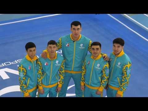 Поздравление с 8 марта от команды Astana Arlans (2018)