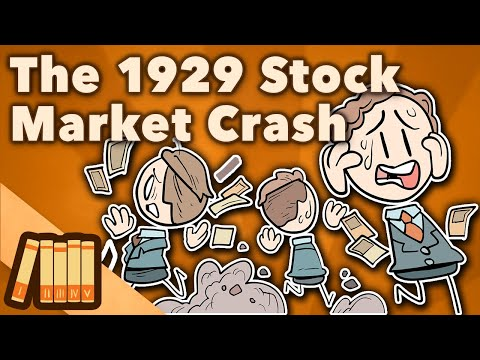 The 1929 Stock Market Crash - Black Thursday - Extra History