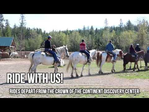 Fall Trail Rides in West Glacier