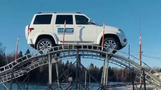 Обновленный УАЗ Патриот с системой ESP Bosch
