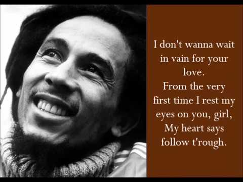 Video Waiting In Vain - Bob Marley - (Lyrics) download in MP3, 3GP, MP4, WEBM, AVI, FLV January 2017