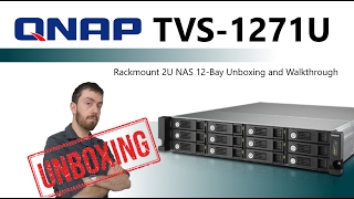 "We Unboxing and Overview of the 12 Bay VM enabled Rackmount NAS https://www.span.com/product/Qnap-19-Rack-NAS-TVS-1271U-RP-i3-8G-12-Bay-2U-RAID-0-1-5-6-8GB-RAM-Core-i3-~46854Qnap  19""Rack NAS TVS-1271U-RP-i3-8G 12-Bay, 2U, RAID 0/1/5/6 (8GB RAM, Core i3) £1500+ex.VAT and not included HDD MediaTVS-1271U-RP-PT-4G: Dual-core Intel® Pentium® G3250 3.1 GHz ProcessorTVS-1271U-RP-i3-8G: Dual-core Intel® Core™ i3-4150 3.5 GHz ProcessorTVS-1271U-RP-i5-16G: Quad-core Intel® Core™ i5-4590S 3.0 GHz ProcessorTVS-1271U-RP-i7-32G: Quad-core Intel® Core™ i7-4790S 3.2 GHz Processor System memory: 8 GB DDR3 RAMMemory module pre-installed: 4 GB x2Total memory slots: 4Memory expandable up to: 32 GB (8GB x4)Note: When upgrading RAM to more than 24GB, the original 4GB RAM modules must be removed. Two mSATA port on board for read caching TVS-1271U-RP-i3-8G: 176.27 (with 12 x WD WD20EFRX hard drive installed) 2x (1* PCIe Gen3 x8, 1* PCIe Gen3 x4) Did you enjoy the video? Find it helpful? Want to hear more? Of course you want to...you're only human! Why not subscribe to save you searching next time https://www.youtube.com/user/SPANdotCOMAre you interested in all things data storage. Perhaps you are a Mac users and want to know if this NAS, DAS, Cable or Drive will work for you? That is where SPAN and Robbie can help. For over 20 years SPAN has been helping companies and individuals worldwide with their digital archive and storage needs. Alongside that Robbie (Robert Andrews if you want to be delightfully formal) has been spending the last few years keeping you up to date on all things data and won't shut up about it!If you are as interested in data as we are, then you can find us in a number of ways. SPAN can be reached here SPAN - http://www.span.com. However if you want to be kept up to date with new releases, news and keep your finger on the pulse of data storage, follow us below.Find us on https://www.facebook.com/SPANdotCOM/Follow us on our SPAN Twitter - https://twitter.com/SPANdotCOMOr follow and speak with Robbie directly on his Twitter - https://twitter.com/RobbieOnTheTubeStill not enough? Then why not visit and subscribe to our blog. Upddated regularly it gives you an far wordier version than SPANTV as well as provide you with hints and tips on how to make the most of your hardware here http://www.NASCompares.comDon't forget to visit them on Facebook to entry prize draws, giveaways and competitions, as well as hear about the latest news, NAS releases & offers - https://www.facebook.com/nascompares/"