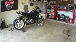 10. 2004 Ducati Monster S4R Start and Rev