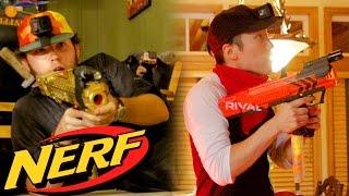 NERF SWAT Team House Raid