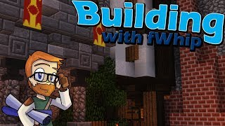 Building with fWhip :: Castle Blacksmith :: #59 Minecraft 1.12 Single Player Survival