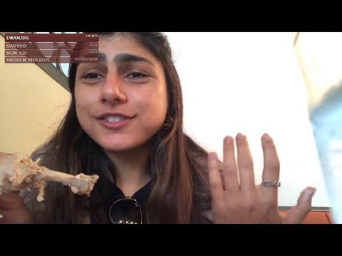 Mia Khalifa New Video 2018 || Mia K Lunch Video