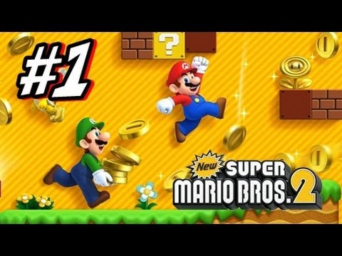 Mario - This is my HD Let's Play with live commentary of New Super Mario Bros 2 for the Nintendo 3DS! This is part 1 of this let's play and we start and complete Wor...
