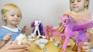 Вечеринка Май Литл Пони на русском Мультик с игрушками Видео для девчонок Игрушки для детей новые