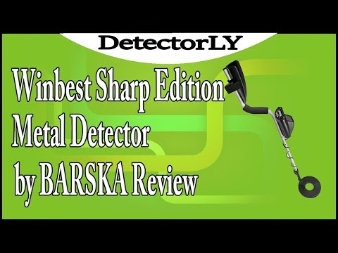 Winbest Sharp Edition Metal Detector by BARSKA Review