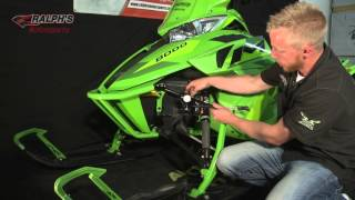 10. How To Adjust Shock Pressures Arctic Cat M8