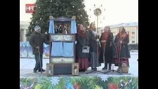 7 января сотни новгородцев и гостей города приняли участие в празднике Рождества Христова
