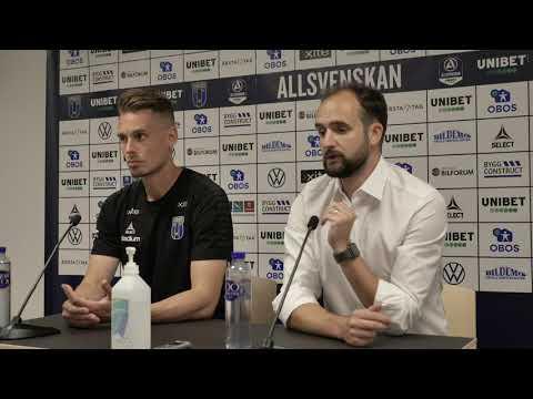 Presskonferens: IK Sirius - ÖSK