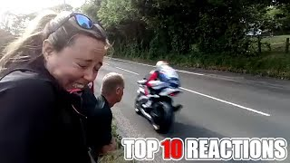 Video 2018 ISLE OF MAN TT TOP 10 REACTIONS MP3, 3GP, MP4, WEBM, AVI, FLV Juli 2018