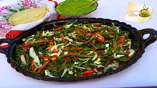 Esta receta de ensalada de nopales es ideal para acompañar una carne asada, queda a la perfección espero te guste!!Ingredientes:5 NOPALES2 CEBOLLAS4 JITOMATES5 CHILES JALAPEñOS1 TROZO DE QUESO CANASTOSal al gusto Otros videosHorchata de avena, receta super rica y facilísimahttps://youtu.be/4gmqrDNtnjUPanecillos rellenos de chorizohttps://youtu.be/oRVIWxhPFvcRicas Enchiladas minerashttps://youtu.be/9Wwo03GQJgwReceta de Arroz verde con elote, riquísimo!https://youtu.be/yjFvV6PSpzgTacos dorados de barbacoa https://youtu.be/UF2sqsp1PT4Suscribete a mi canal, solo haz click aquí:  http://goo.gl/OPGDX8