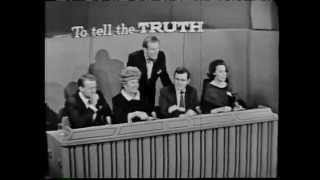 """Director/producer Otto Preminger appears as a contestant in an unusual segment from a 1965 episode of """"To Tell the Truth"""". Since Preminger was of course known to the panelists, he and the two impostors are masked and their voices electronically altered, and the panel listens through headphones.The impostors are interesting too, but I'd rather not spoil the fun by revealing their names here. I suggest you watch and see.Host is Bud Collyer and the panelists are Tom Poston, Peggy Cass, Orson Bean, and Kitty Carlisle."""