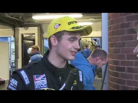 AIDEN MOFFATT - LASERTOOLS RACING - BTCC BRANDS GP 2016