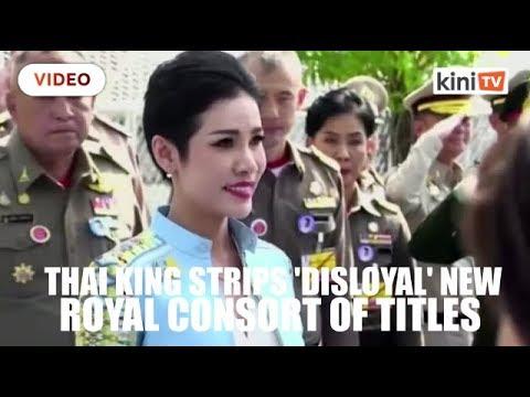 "Thai king strips ""disloyal"" new royal consort of titles, military ranks"