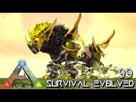 ARK: SURVIVAL EVOLVED - MYTH DARKNESS WHITE TIGER E99 !!! ( ARK EXTINCTION CORE MODDED )