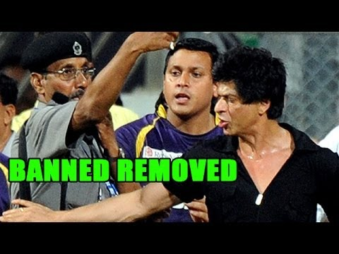 Shahrukh Khan's Wankhede BAN comes to an end