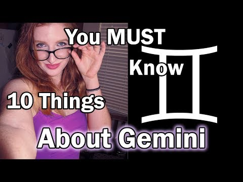 Gemini Personality: 10 Things You MUST Know